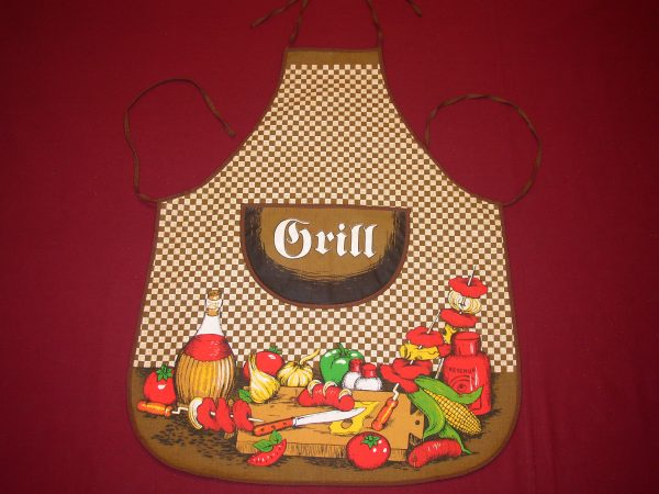 Zástera GRILL s nápisom