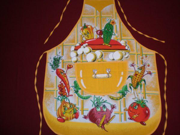 Zástera Veselá zelenina žltá