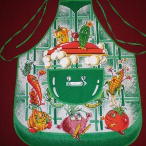 Zástera Veselá zelenina zelená