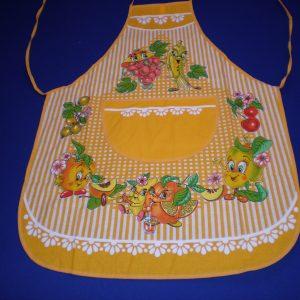 Zástera Veselé ovocie žlté